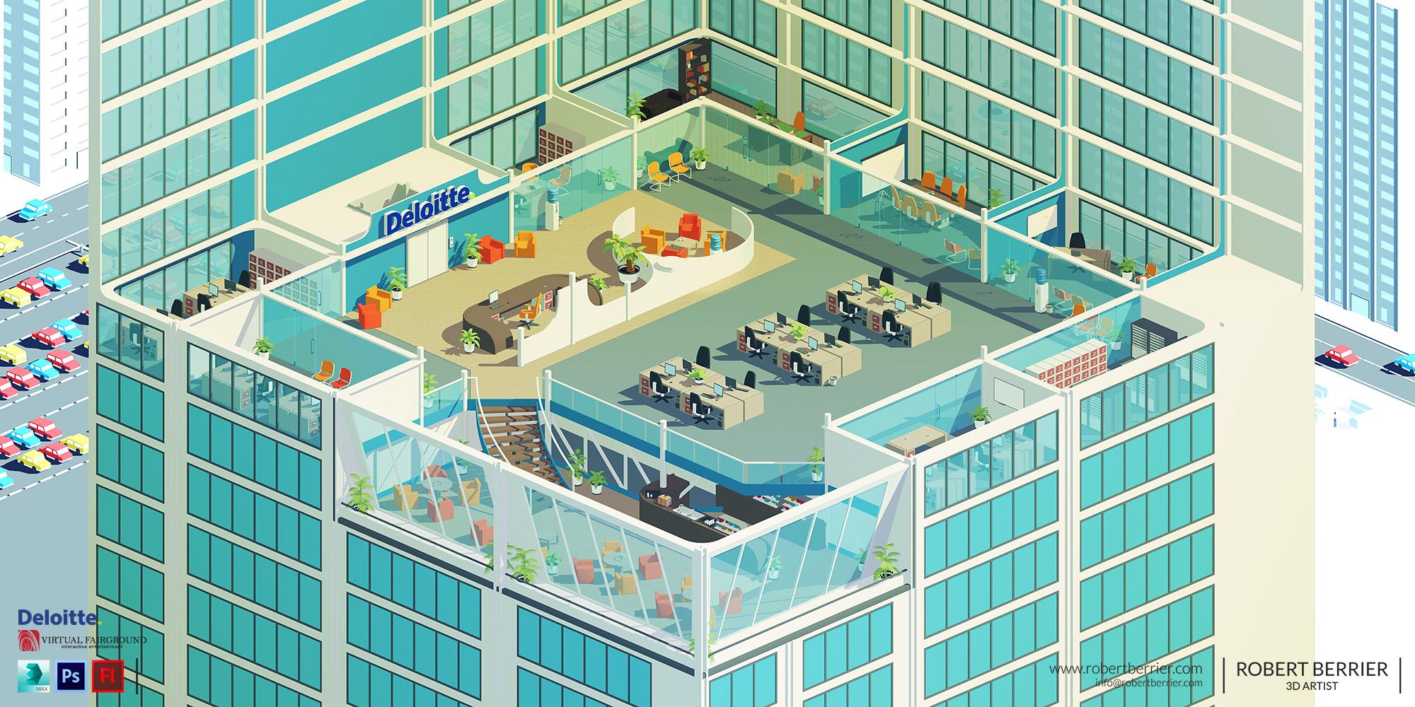 Robert Berrier - Deloitte Office