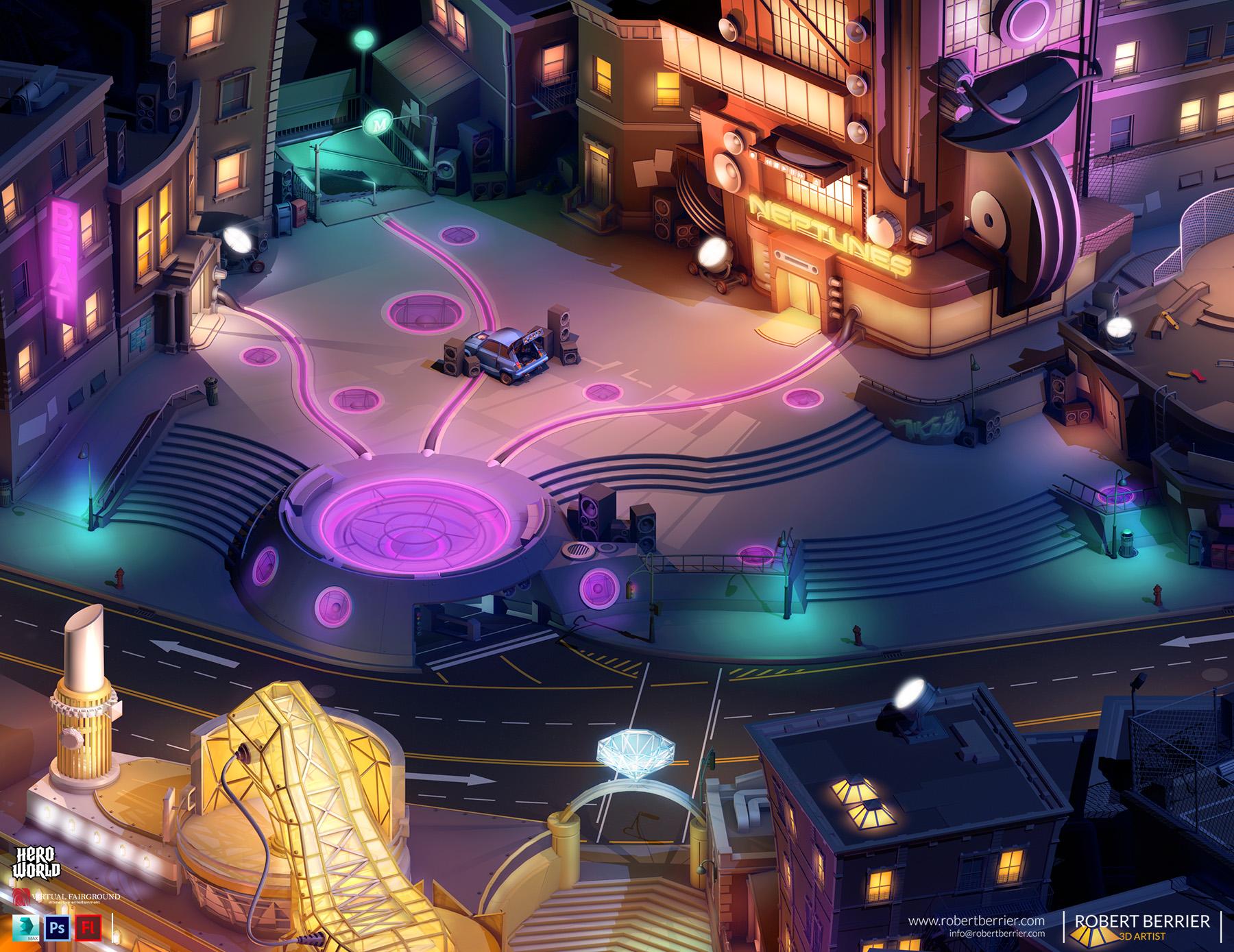 Robert Berrier - Activision - Hero World Beat Plaza