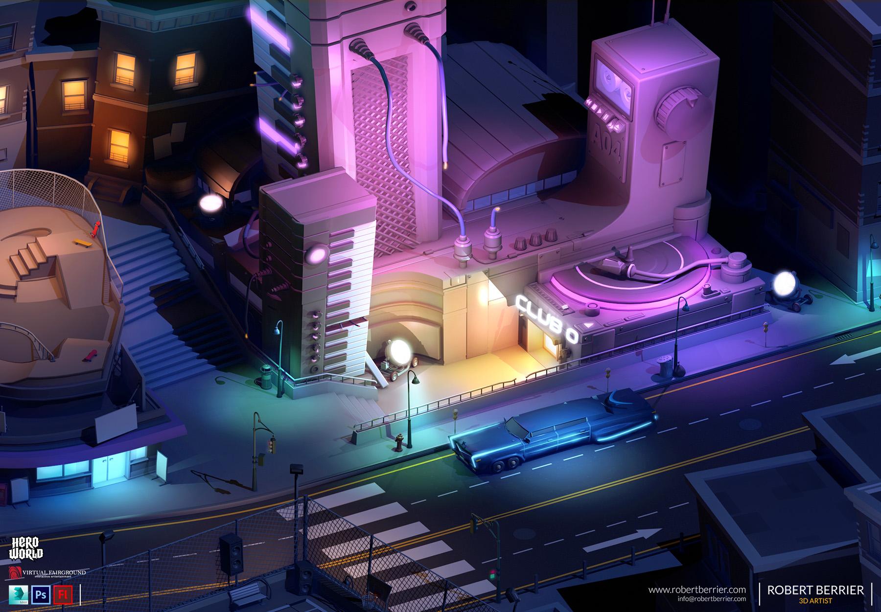 Robert Berrier - Activision - Hero World Club Daft