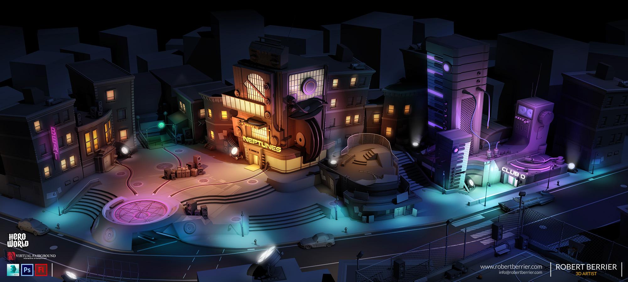Robert Berrier - Activision - Hero World Street