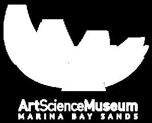 Art Science Museum Logo White