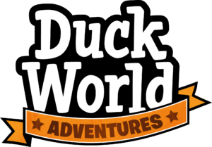 Disney - Duck World logo white