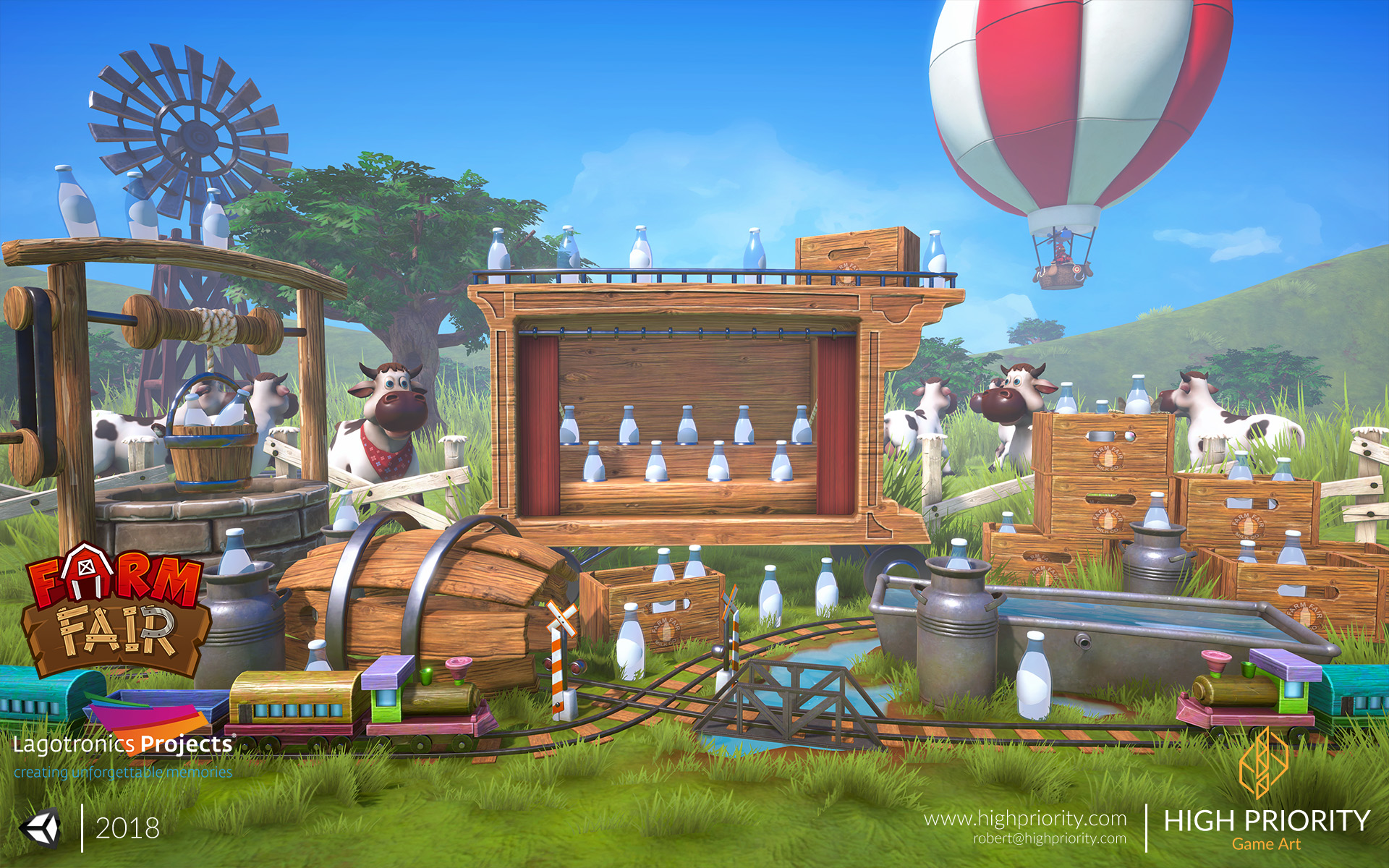 High Priority - Farm Fair - Milk