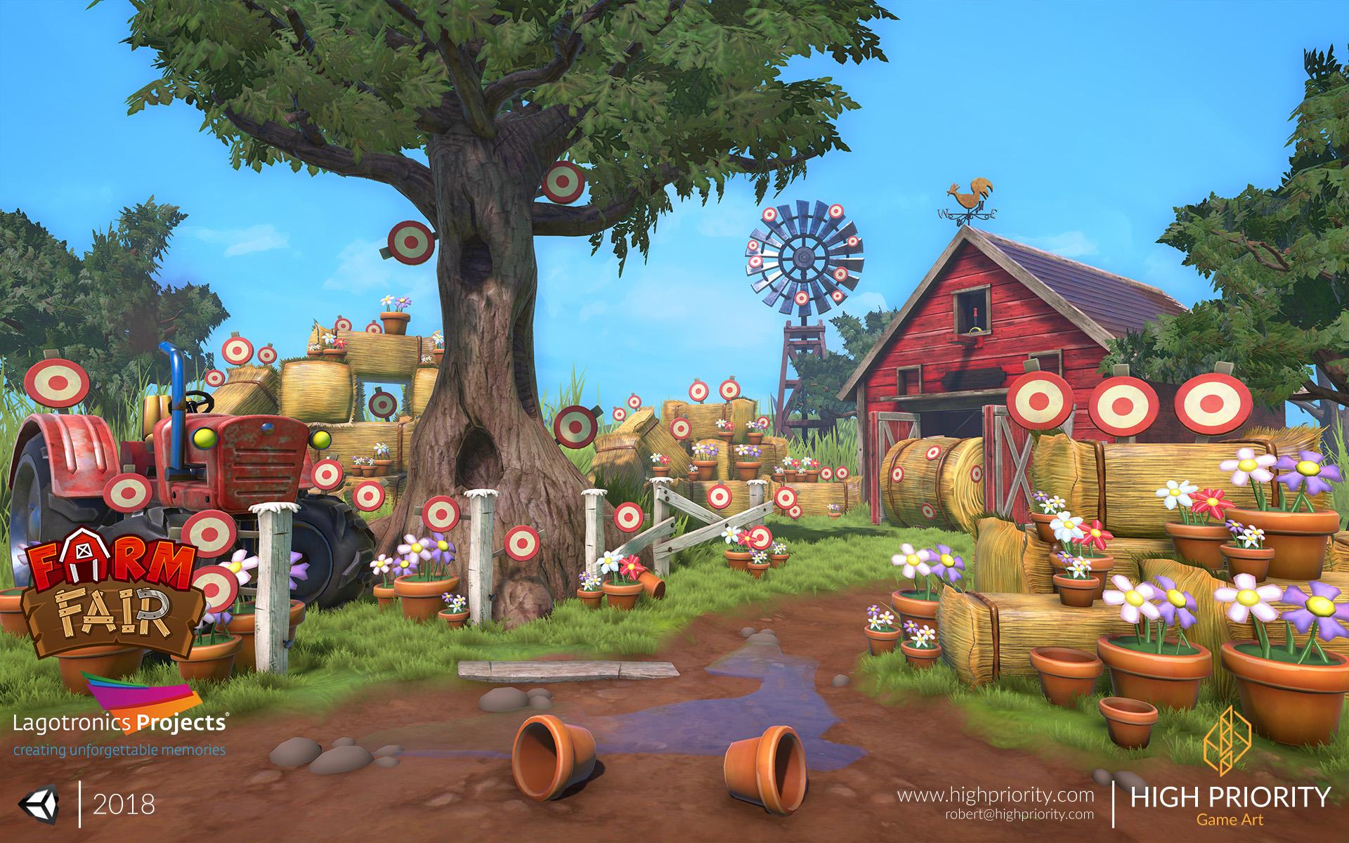 High Priority - Farm Fair - Yard