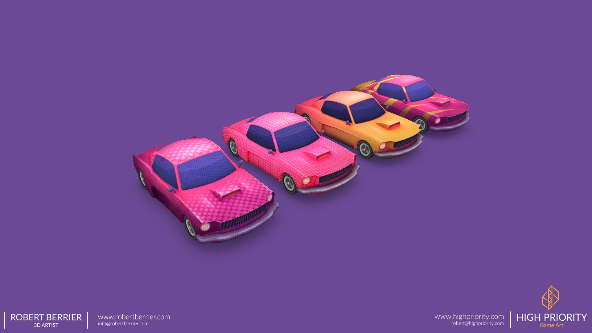 High Priority - Racer Make Way - Cars 01