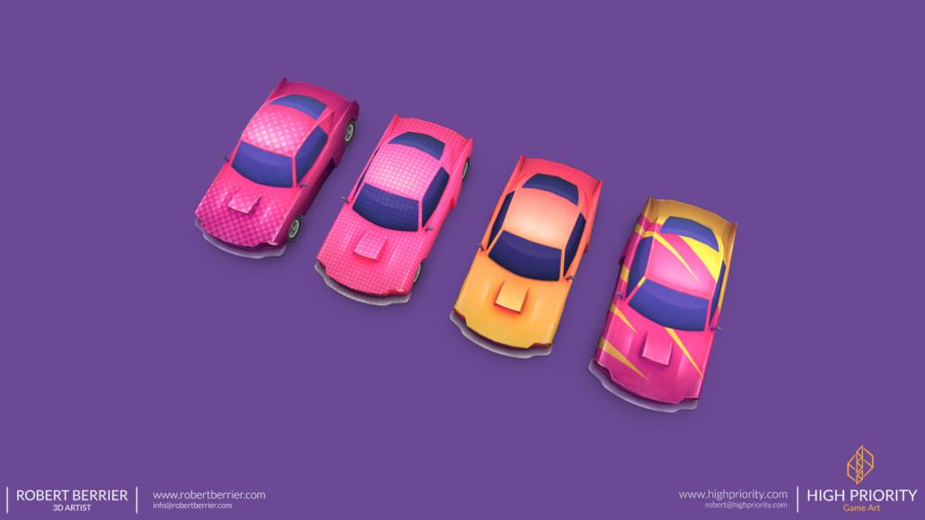 High Priority - Racer Make Way - Cars 02