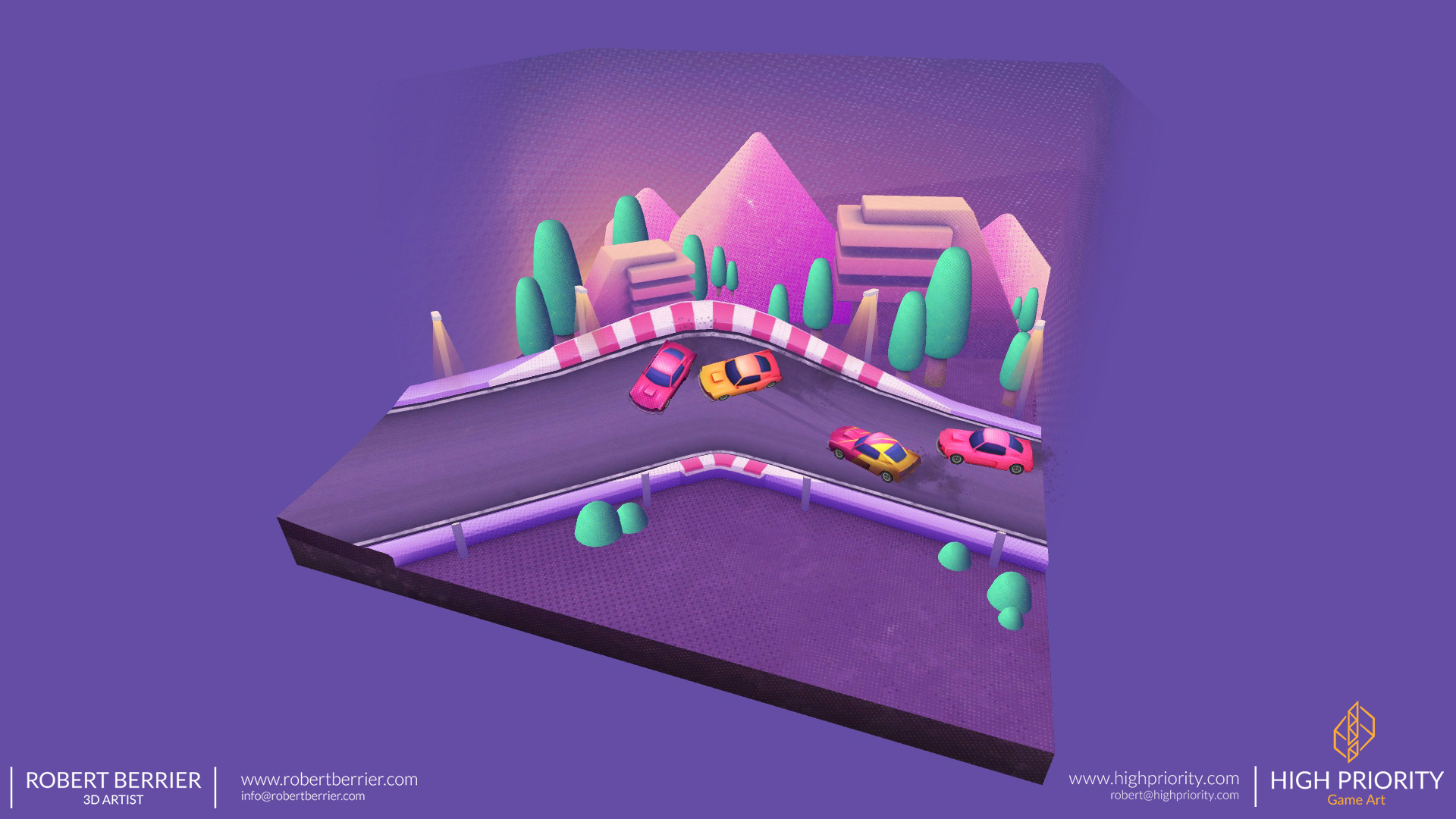 High Priority - Racer Make Way - Environment 01