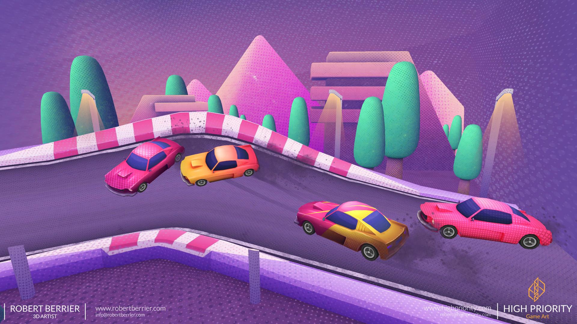 High Priority - Racer Make Way - Environment 02