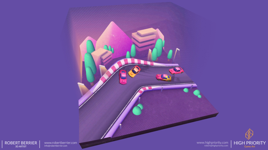 High Priority - Racer Make Way - Environment 03