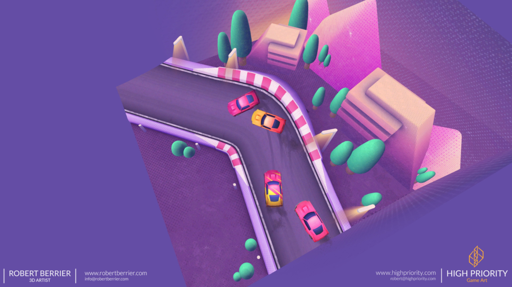 High Priority - Racer Make Way - Environment 04