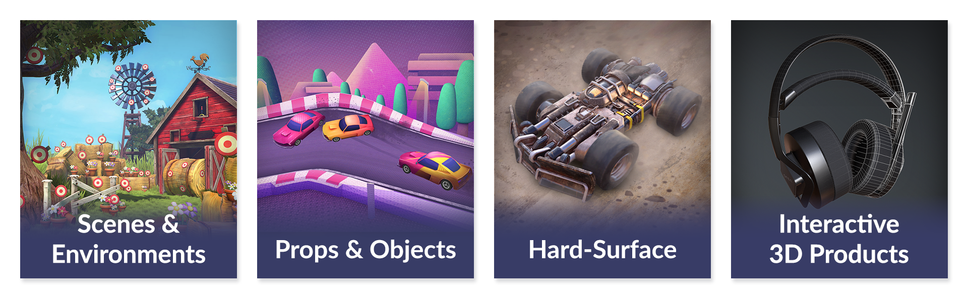 High Priority - Game Art - Services
