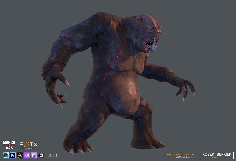 Robert Berrier - March of War - Gorilla Mole 01