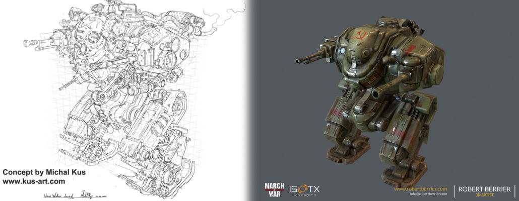 Robert Berrier - March of War - Hammer Concept
