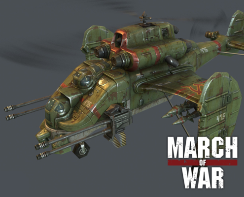 March of War - Thumbnail Sickle