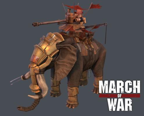 March of War - Thumbnail War Elephant