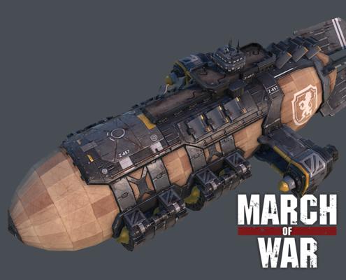 March of War - Thumbnail War Zeppelin