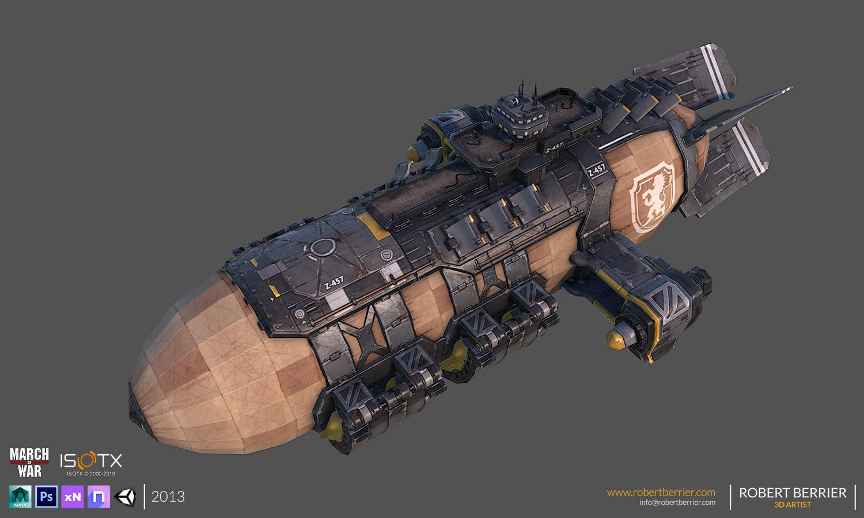 Robert Berrier - March of War - WarZeppelin 01