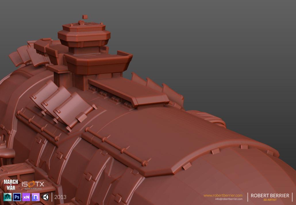 Robert Berrier - March of War - WarZeppelin HP08