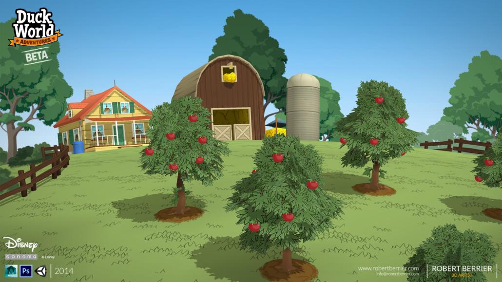 Robert Berrier - Disney - Duck World - Farm