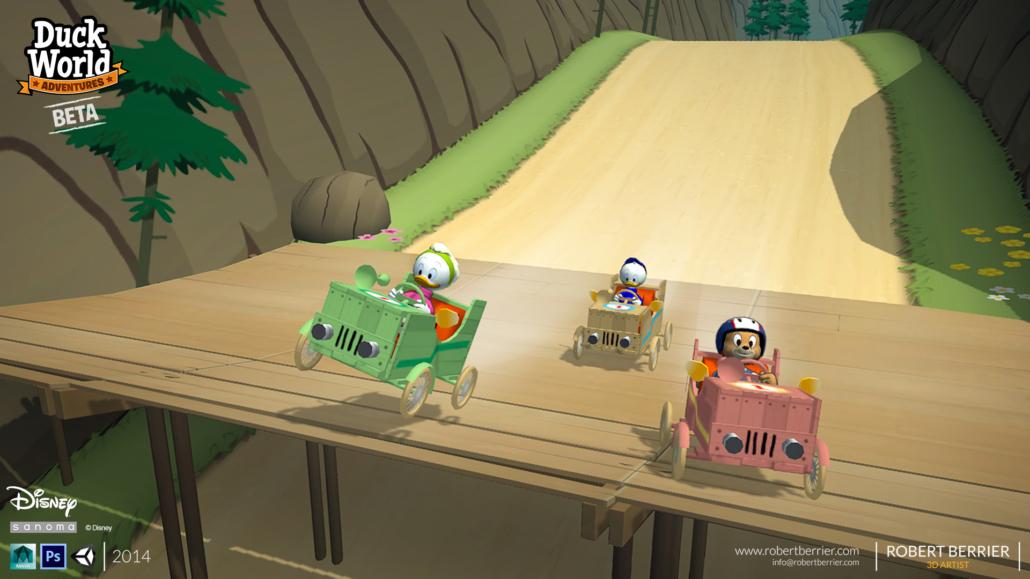 Robert Berrier - Disney - Duck World - Kart Racing 02