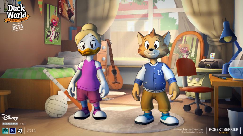 Robert Berrier - Disney - Duck World - Wardrobe