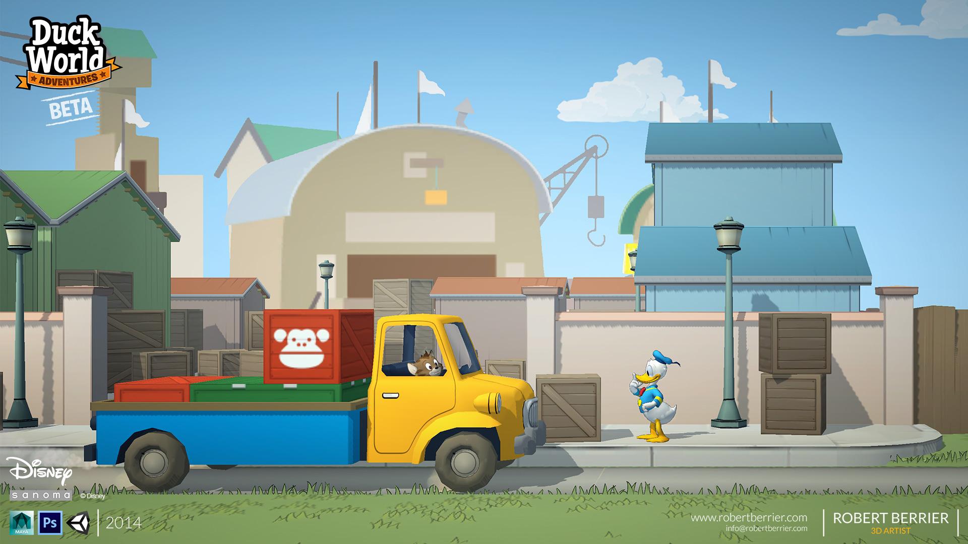 Robert Berrier - Disney - Duck World - Zoo Transport