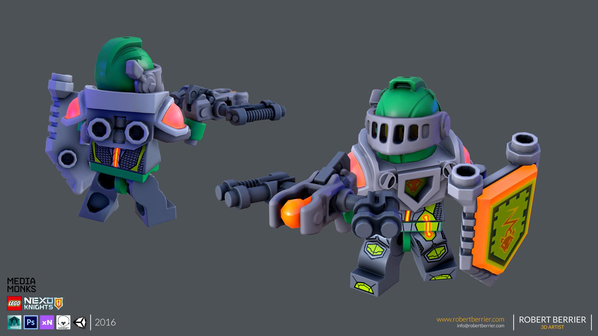 Robert Berrier - Lego Nexo Knigths - Aaron