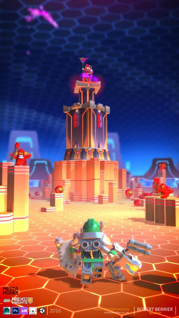 Robert Berrier - Lego Nexo Knigths - In game Arron