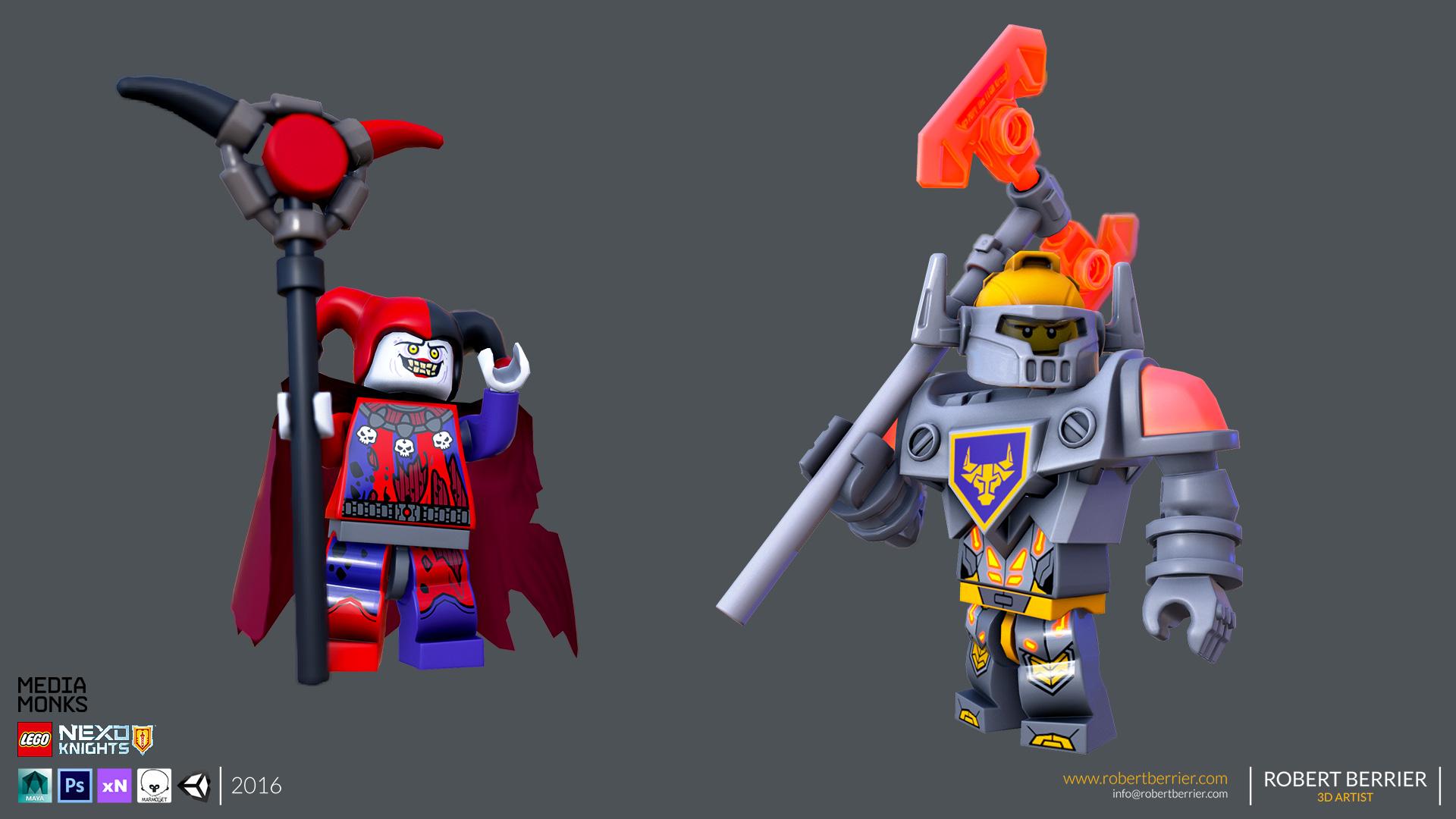 Robert Berrier - Lego Nexo Knigths - Jestro