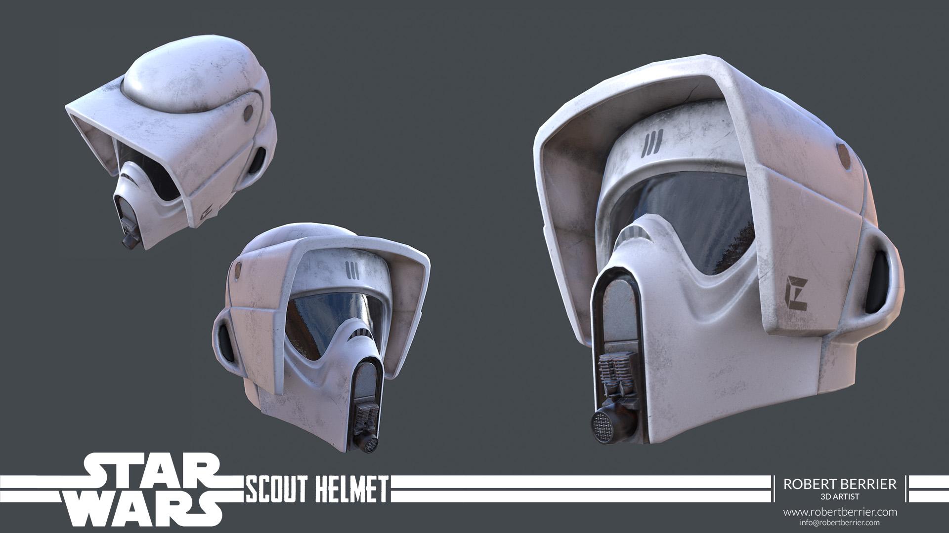 Robert Berrier - Star Wars Scout Helmet 01