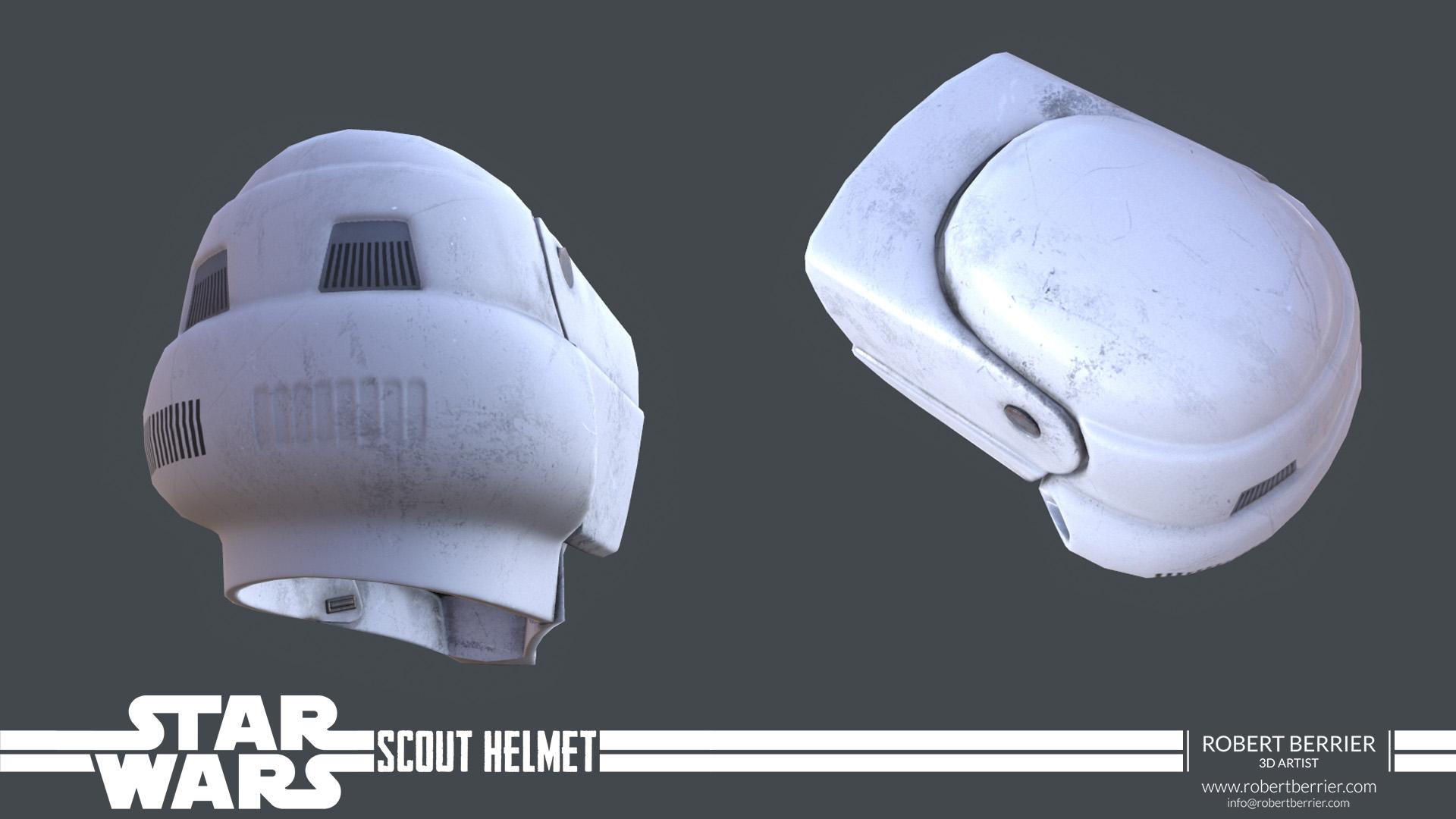 Robert Berrier - Star Wars Scout Helmet 02