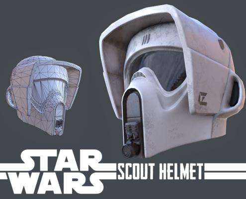Star Wars - Scout Helmet Thumbnail
