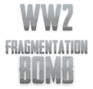 WW2 Fragment Bomb Logo