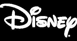 Disney logo white