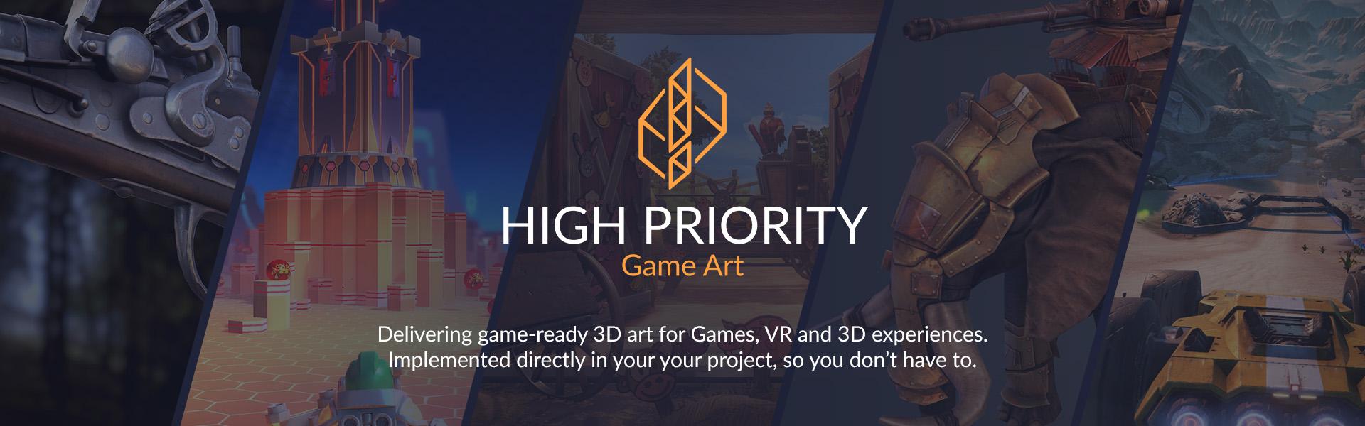 High Priority - Game Art - Top Banner 2